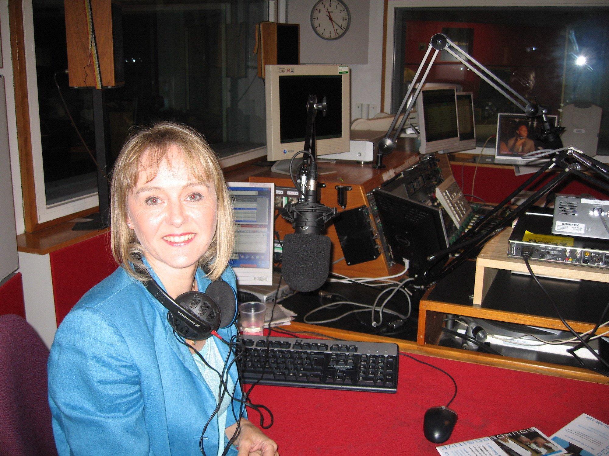 Lysette Offley Radio Oxford 18.08.08